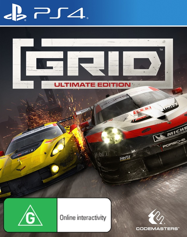 GRID Ultimate Edition for PS4