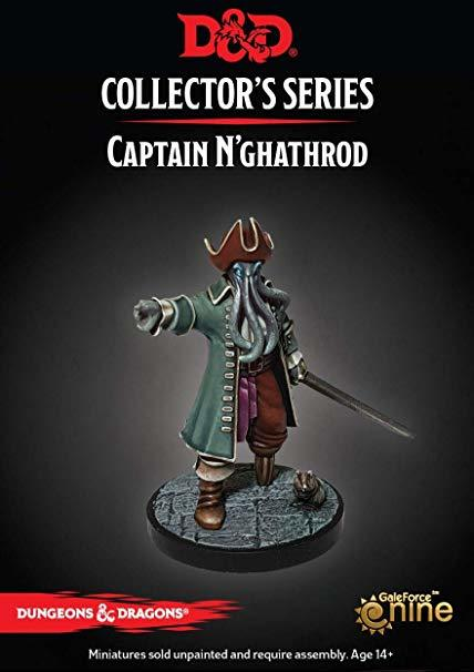 Dungeons & Dragons Dungeon of the Mad Mage - Captain N'ghathrod