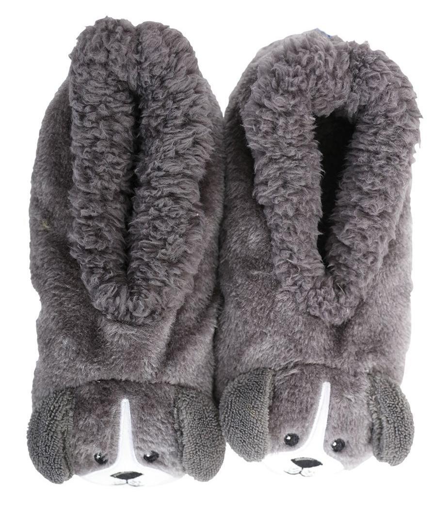 Slumbies: Dog Furry Critters - Womens Slippers (Medium) image