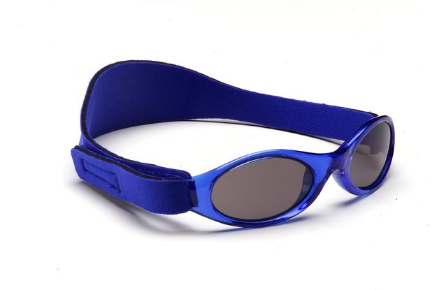 Adventure Baby Banz Polarised Sunglasses - Dark Blue