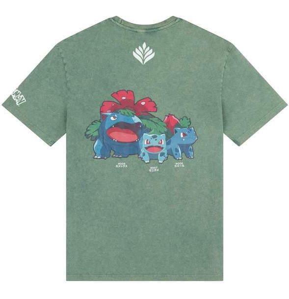 Criminal Damage x Pokemon: Bulbasaur - Leaf Green Tee (Size: M)