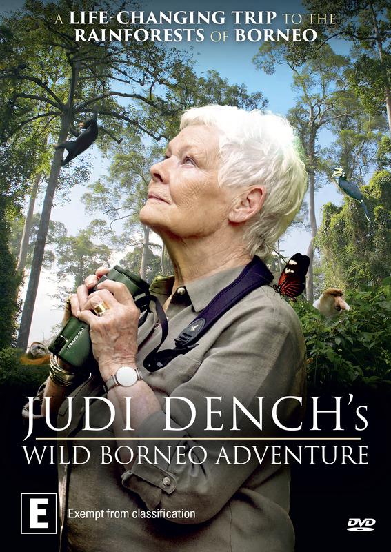 Judi Dench's Wild Borneo Adventure on DVD