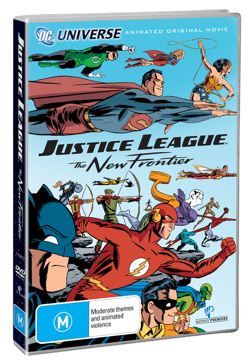 Justice League - The New Frontier on DVD image