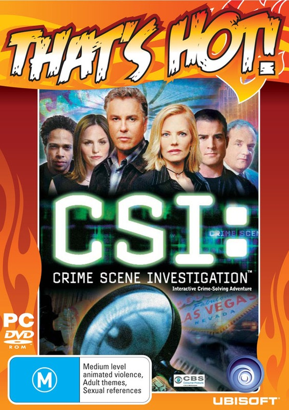 CSI: Crime Scene Investigation for PC Games