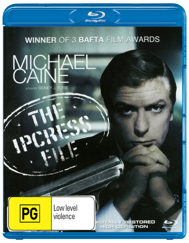 The Ipcress File on Blu-ray
