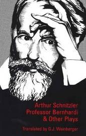 Professor Bernhardi and Other Plays image