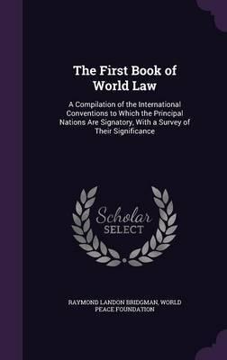 The First Book of World Law by Raymond Landon Bridgman image