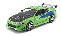 Jada: 1/24 Brian's Mitsi Eclipse (Green) - Diecast Model