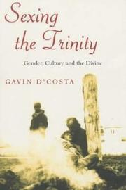 Sexing the Trinity by Gavin D'Costa