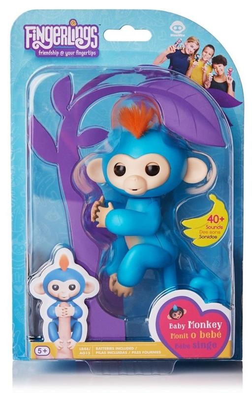 Fingerlings: Interactive Baby Monkey - Boris