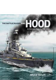 The Battleship Cruiser HMS Hood by Bruce Taylor