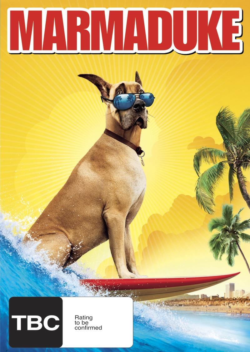 Marmaduke on DVD image