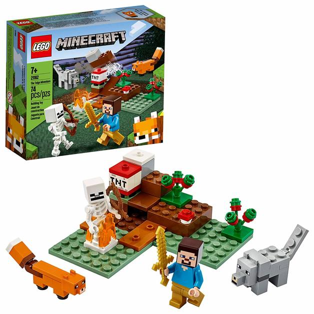 LEGO Minecraft: The Taiga Adventure - (21162)
