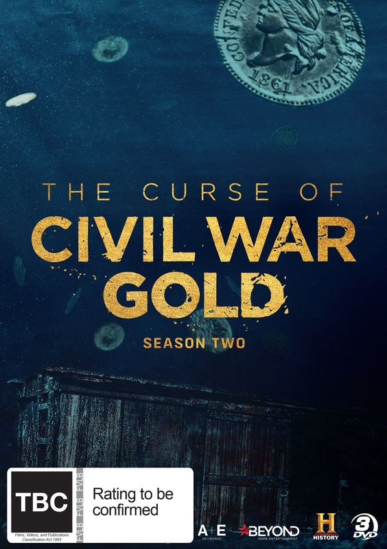The Curse Of The Civil War Gold: Season 2 on DVD