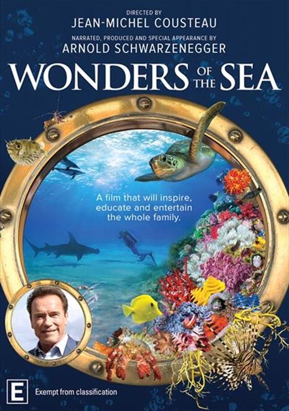 Wonders of the Sea on DVD