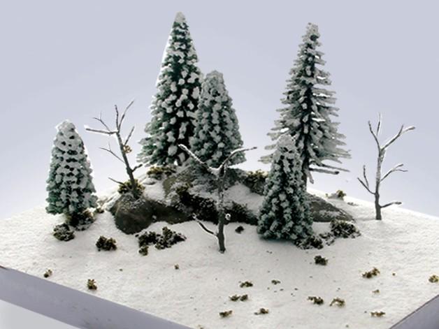 JTT: Winter Scene Kit