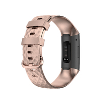 OEM Fitbit Charge 3/4 Watch Band - Rosegold