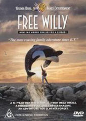 Free Willy on DVD