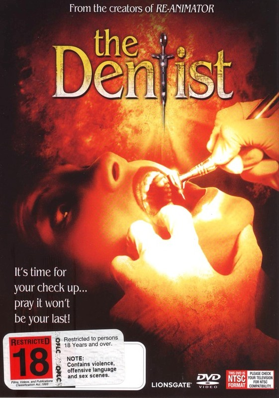 The Dentist on DVD