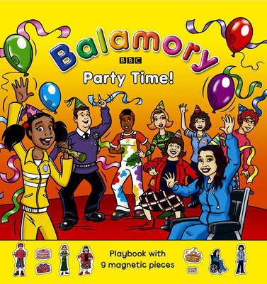 Party Time!: Magnet Book