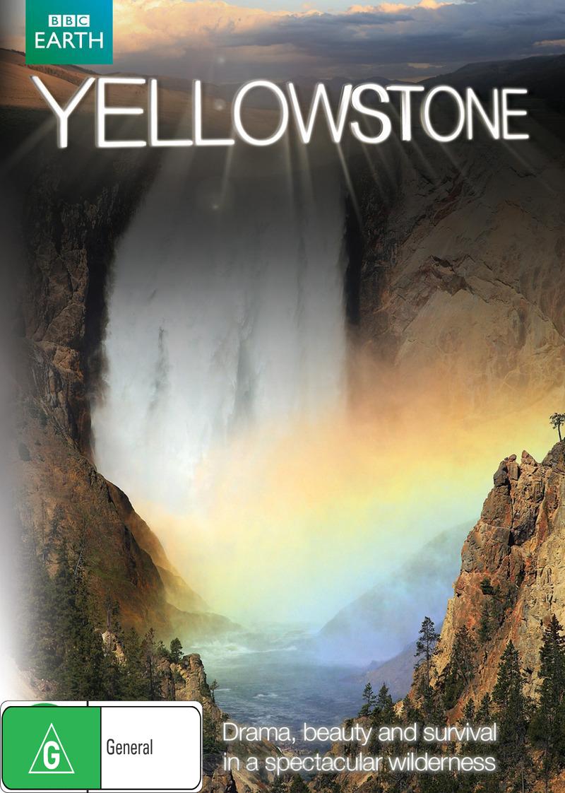 Yellowstone DVD image