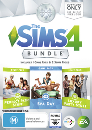 The Sims 4 Bundle Pack (code in box) for PC Games