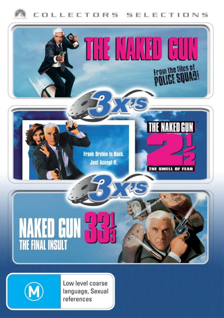 The Naked Gun / The Naked Gun 2 / The Naked Gun 33 1/3 (Collectors Selections) (3 Disc Set) on DVD image