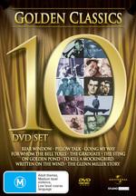 Golden Classics (10 Disc Box Set) on DVD
