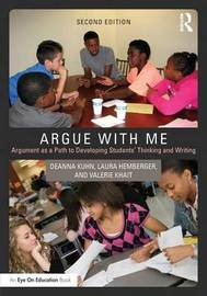 Argue with Me by Deanna Kuhn