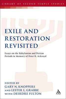 Exile and Restoration Revisited by Deirdre Fulton image