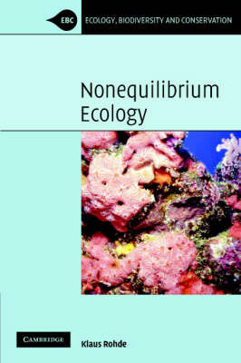 Nonequilibrium Ecology by Klaus Rohde image