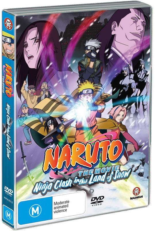Naruto - The Movie 1: Ninja Clash in The Land of Snow on DVD