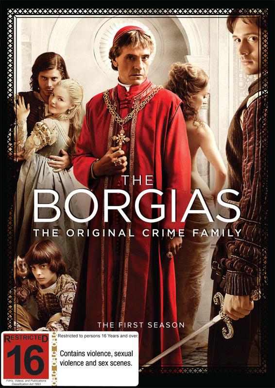 The Borgias on DVD