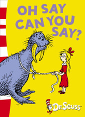 Oh Say Can You Say? (book and CD) by Dr Seuss image