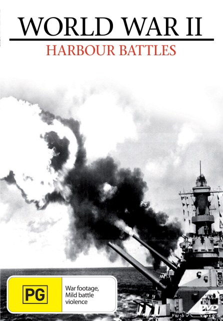 World War II - Harbour Battles on DVD image