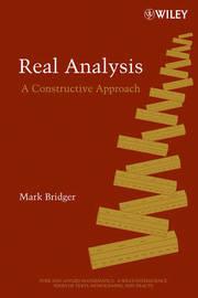 Real Analysis by Mark Bridger image