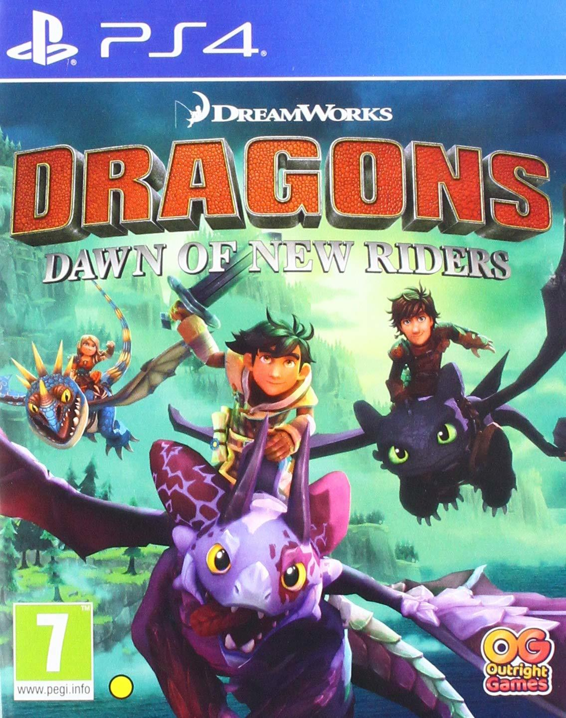Dragons Dawn of New Riders for PS4 image