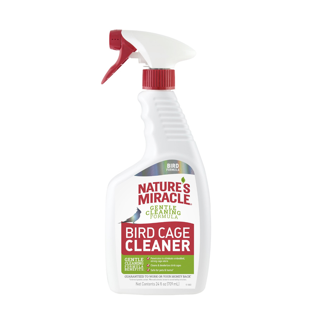 Natures Miracle: Bird Cage Cleaner and Deoderiser 709ml image