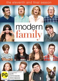Modern Family - The Complete Eleventh Season on DVD image