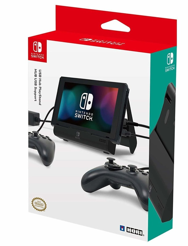 Switch Multiport USB PlayStand by Hori for Switch