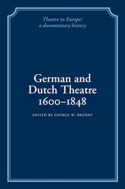 German and Dutch Theatre, 1600-1848 image