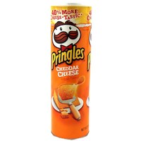 Pringles Super Stack Cheddar Cheese (158g)