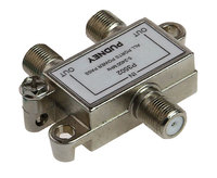 Pudney: F Splitter 2 Way Metal 5-2400 Mhz