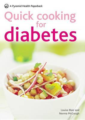 Quick Cooking for Diabetes by Louise Blair image