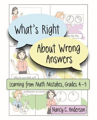What's Right About Wrong Answers by Nancy Anderson image