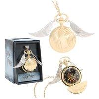 Harry Potter: Golden Snitch - Pocket Watch Necklace