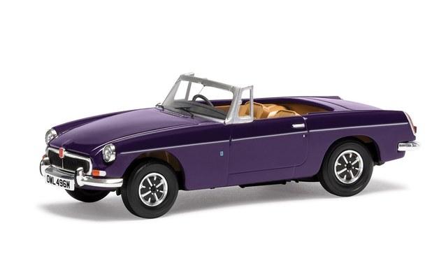 Corgi: 1/43 MGB Roadster Mk3 (Purple) - Diecast Model