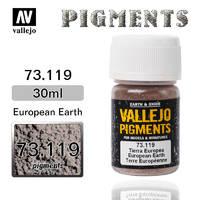 Vallejo Pigment European Earth 30ml