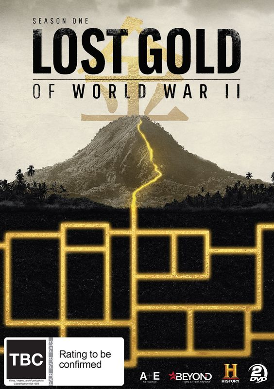 Lost Gold Of World War II on DVD