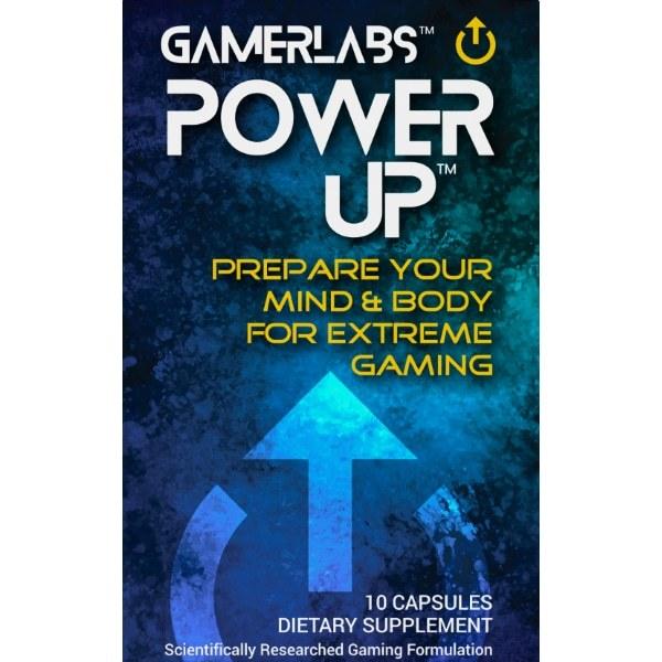 Gamerlabs: PowerUp - Single Pack | 10 Capsules